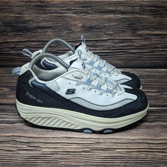 skechers shoes blue